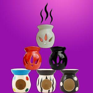SET-OF-3-CERAMIC-OIL-BURNER-MELTS-WAX-CANDLE-TART-TEA-LIGHT-AROMA-LAMP-NEW