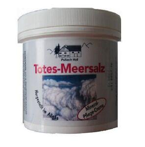 10x 250ml Totes Meer Salz Creme Schuppenflechte Neurodermitis Akne Ekzeme Pickel
