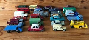 x-22-Vintage-Lesney-Cars-Lorrys-Trucks-Milk-Pickfords-Ambulance-etc-Spare-Repair