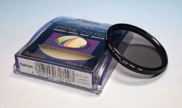 100% Vrai Hama Htmc Circular Polarizing/polarisant Circulaire-polarisation Filtre M49 (vii) - (202707)-isation Filter M49 (vii)- (202707) DernièRe Technologie