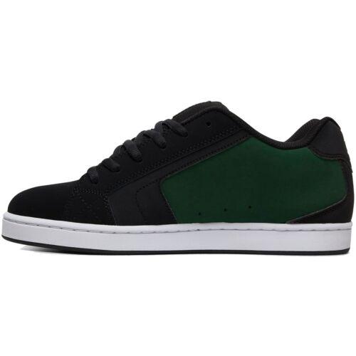 DC-NET 302361 Black//Black//Green Skate Chaussure Noir Vert Baskets XKKG