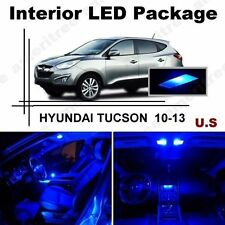 Blue LED Lights Interior Package Kit for Hyundai Tucson 2010-2013 ( 7 Pieces )