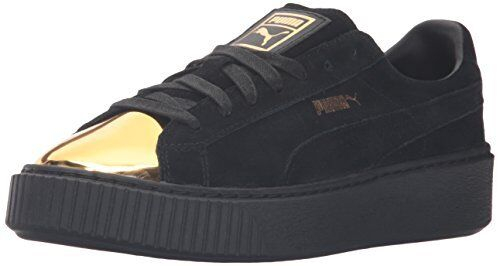 PUMA donna Suede Platform oro Fashion scarpe da ginnastica- Pick SZ Coloree.