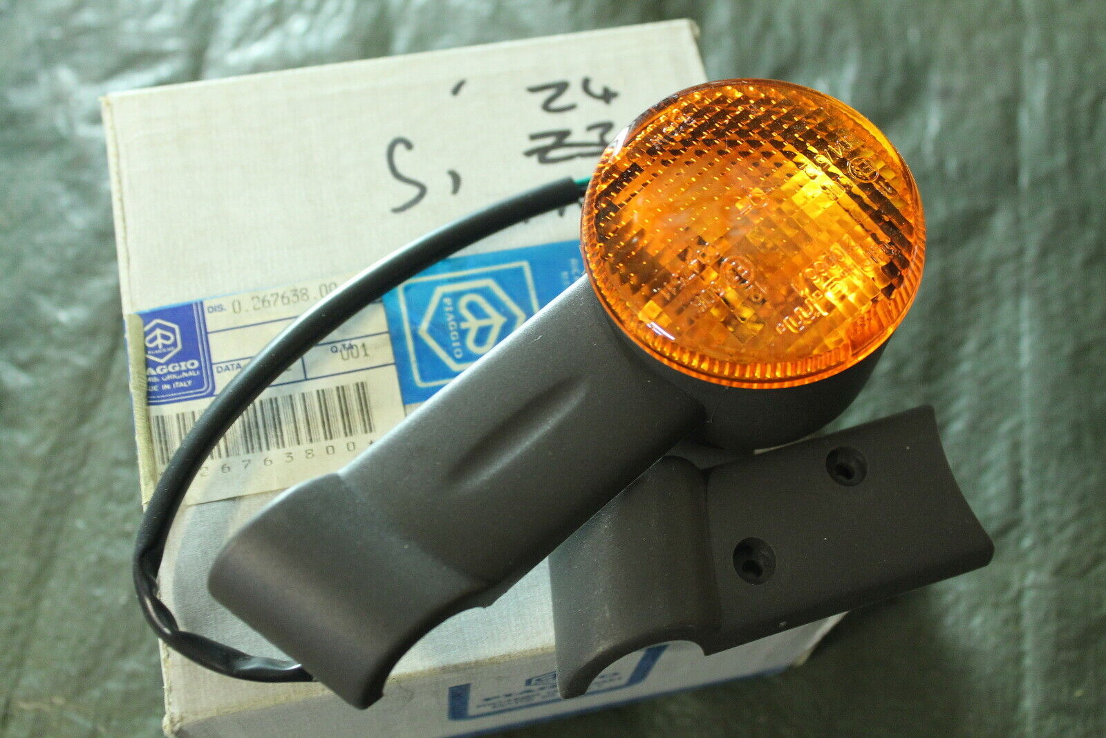 Piaggio Vespa Ciao Bravo SI Mofa Moped Hupe Blinker Licht Schalter Schwarz Neu