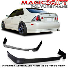 01 02 03 04 05 Lexus IS300 Altezza JDM VIP STYLE URETHANE REAR ADD-ON BUMPER LIP