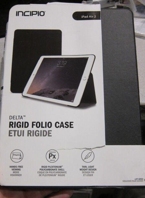 Incipio Delta Rigid Folio Case for Apple iPad Air 2 (black)