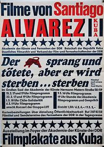 Plakat-DDR-Ausstellungsplakate-Filmplakate-Kuba-Karl-Heinz-Drescher