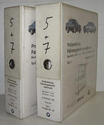 Krachtig Werkstatthandbuch Elektrik Bmw 5er E34 / E 34 7er E32 Elektrische Schaltpläne Aantrekkelijk Uiterlijk