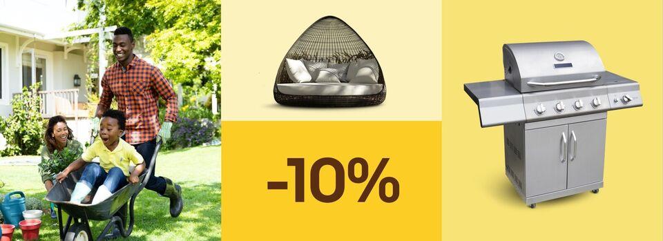 Sommer ist, wo du bist – Gutschein abgrasen - -10% für deinen Sommer im Garten