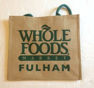 Image Is Loading Whole Foods Fulham Broadway London Eco Tote Bag