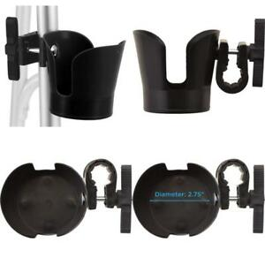 Universal-Cup-Holder-Plastic-For-Walkers-Wheelchairs-Transport-Chairs-Pop-Coffee