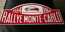 Messerschmitt kr200 tg500 kr201 kr175 Rallye sign