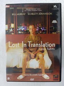 DVD-USED-LOST-IN-TRANSLATION-L-039-AMORE-TRADOTTO