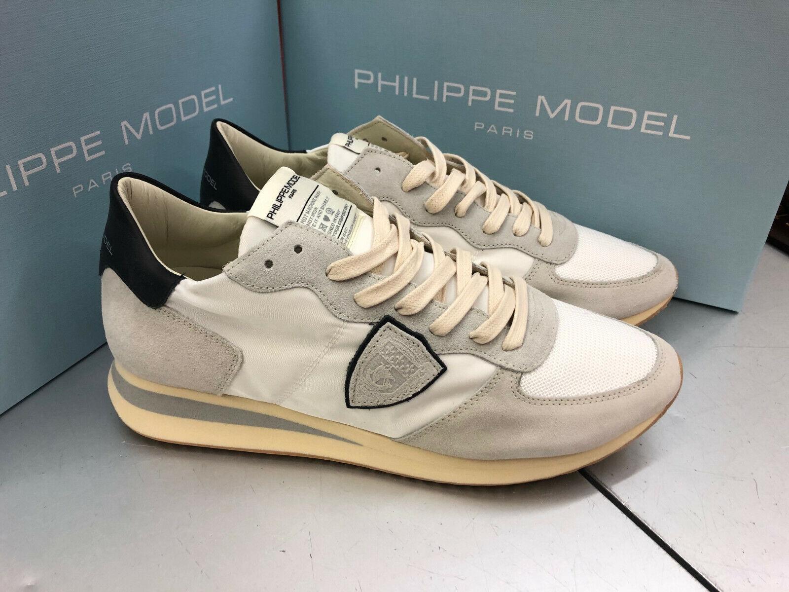 Philippe Model Tropez Higher Twlu WS06 Basic Blanc Canvas