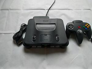 Nintendo-64-N64-HD-RGB-Amp-Mod-Region-Free-Console-w-1080p-Scart-CBL-Custom-LED