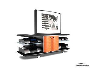 Soundations Chicane 2 Imported Hand-Made Designer TV/Media stand Brand NEW!!