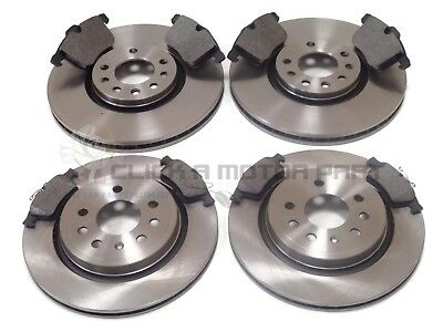VAUXHALL VECTRA C SRI 2002-2009 FRONT /& REAR BRAKE DISCS AND PADS KIT FULL SET