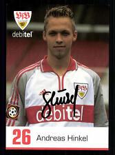 Andreas Hinkel Autogrammkarte VFB Stuttgart 2000-01 Original Signiert +A15611