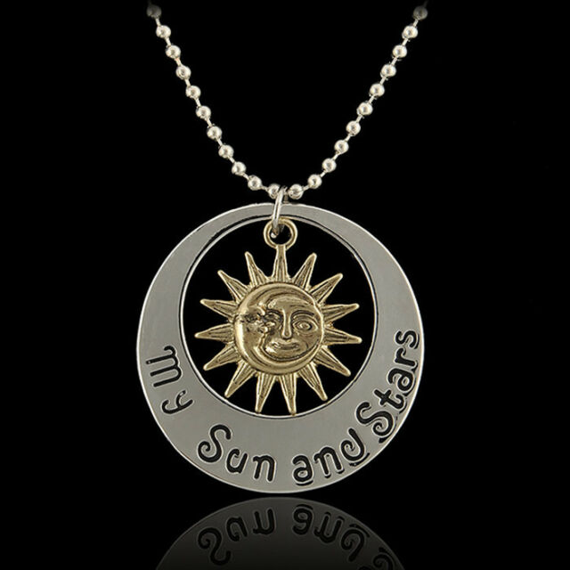 Fashion Jewelry Game of Thrones Khal & Khaleesi Moon of My Life Pendant Necklace