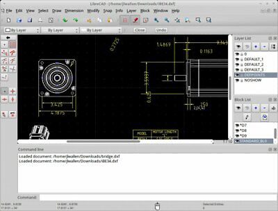CD for Windows and Mac Professional 2D CAD Software LibreCAD