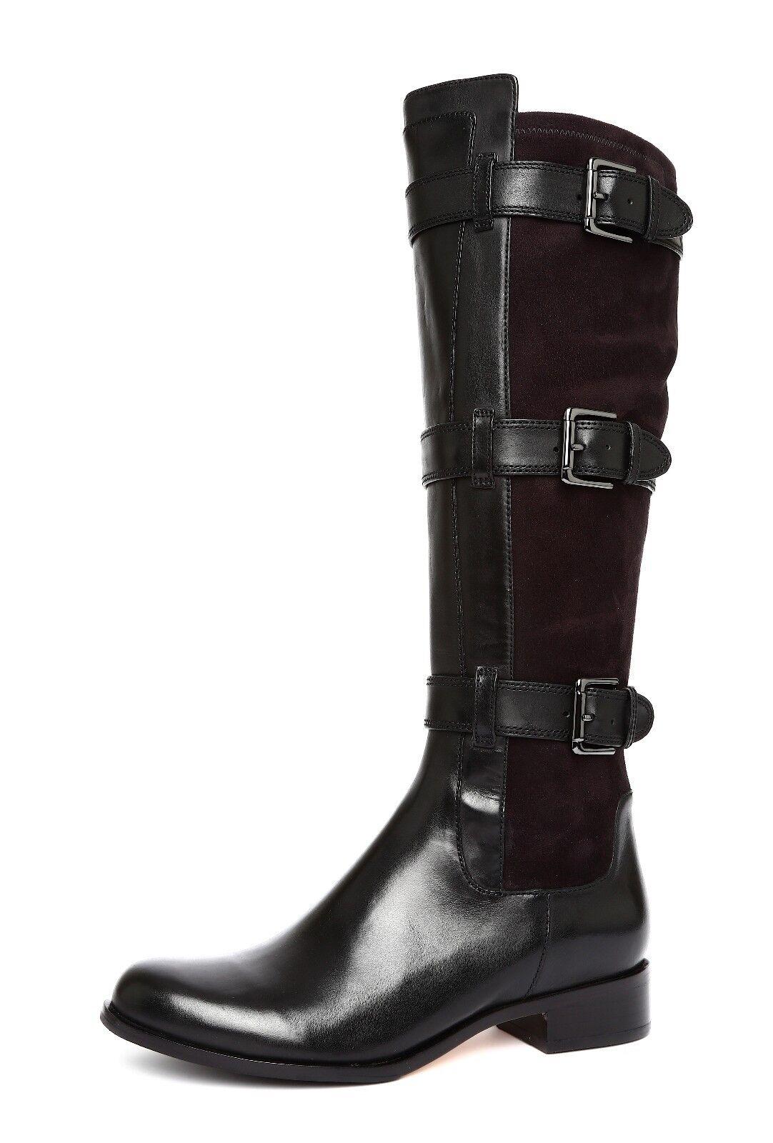 Cole Haan Women's Black Avalon Tall Boots Sz 7.5 B 2100