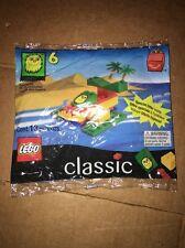 1999 Classic Lego Bag Set #6 Ronald McDonald Happy Meal Plane Boat 13 Pcs Sealed