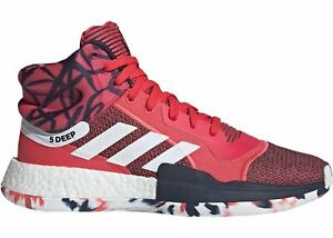 Mens-Adidas-Marquee-Boost-John-Wall-Shock-Red-Footwear-White-Core-Navy-G27737