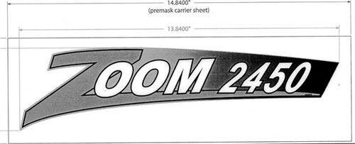 Genuine OEM Ariens Lawn Mower Decal 2450 Zoom 03252400