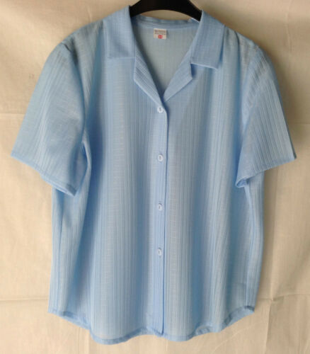 NEW LADIES WOMENS PLUS SIZES 12-26 CHEESECLOTH COLLARED SHORT SLEEVE TOP BLOUSE