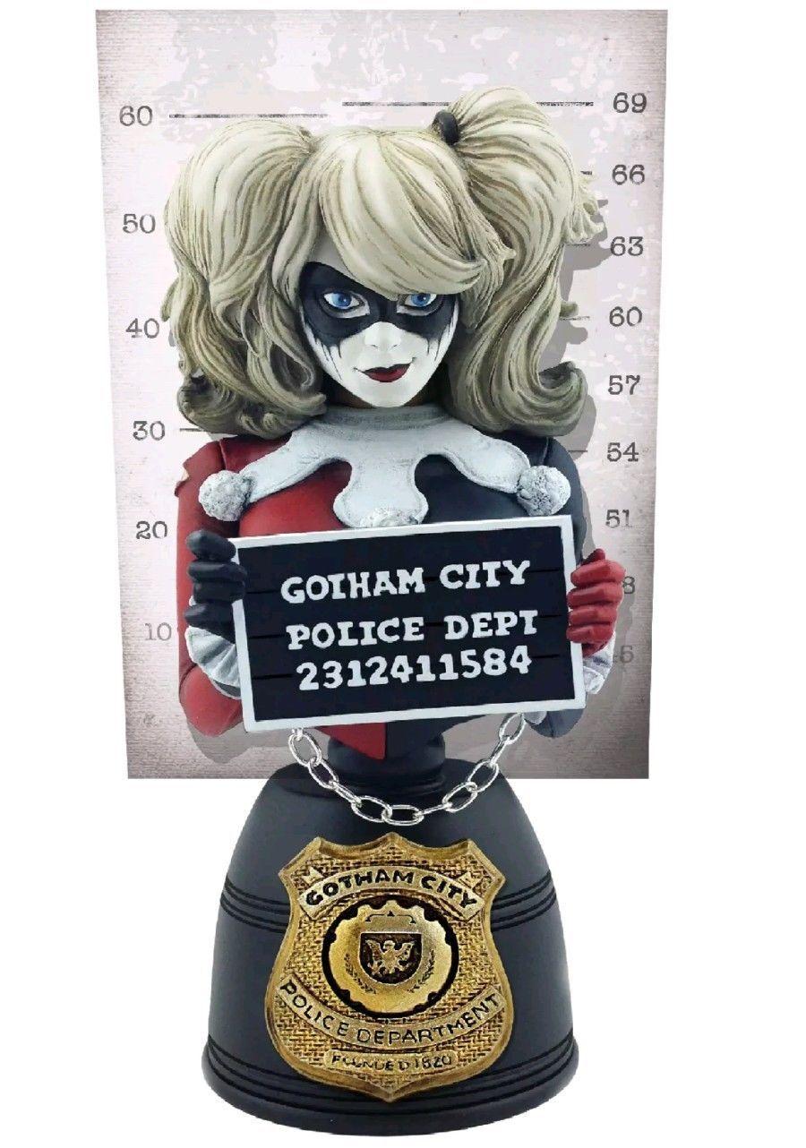 DC Comics-Harley Quinn Formato verdeical Coleccionable Busto por Cryptozoic