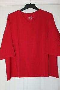 Denim-amp-Co-Essentials-Perfect-Jersey-3-4-Sleeve-Knit-Top-2X