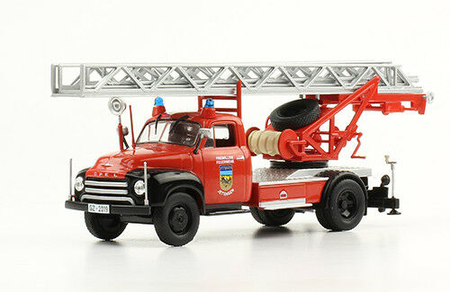 Echelle Pivotante Manuelle Magirus DL 18 Opel Blitz Jettingen 1//43 Camion de pompiers