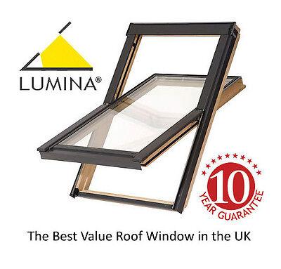 VELUX - style Lumina Roof Windows 55 x 72 cm Including Flashing Kit