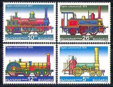 Bulgaria 1996 Transport/Steam Engines/Locomotive/Trains/Rail/Railways 4v n28860