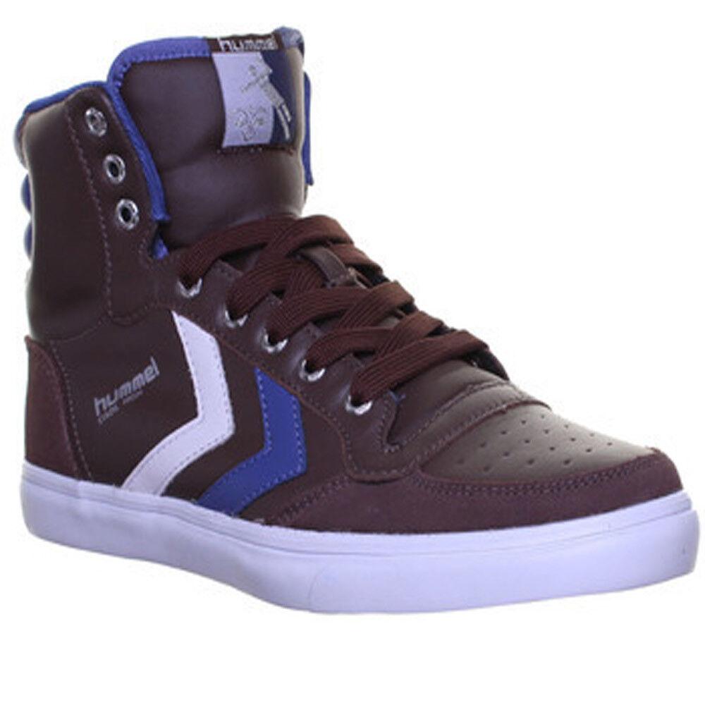 10026 Hummel Slimmer Stadil Hi Top Unisex Leinen Sneakers Schnursenkel Running S