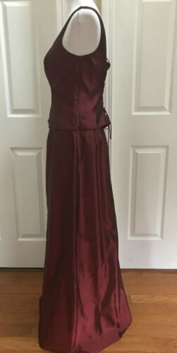 New Top Long Jones 2 12 Skirt Women York And Red Evenings Size Sleeveless Pc dq0qPpx