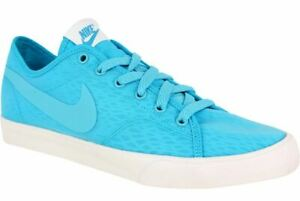 Nike-Primo-Court-BR-Women-039-s-Gamma-Blue-White-Casual-Sneakers