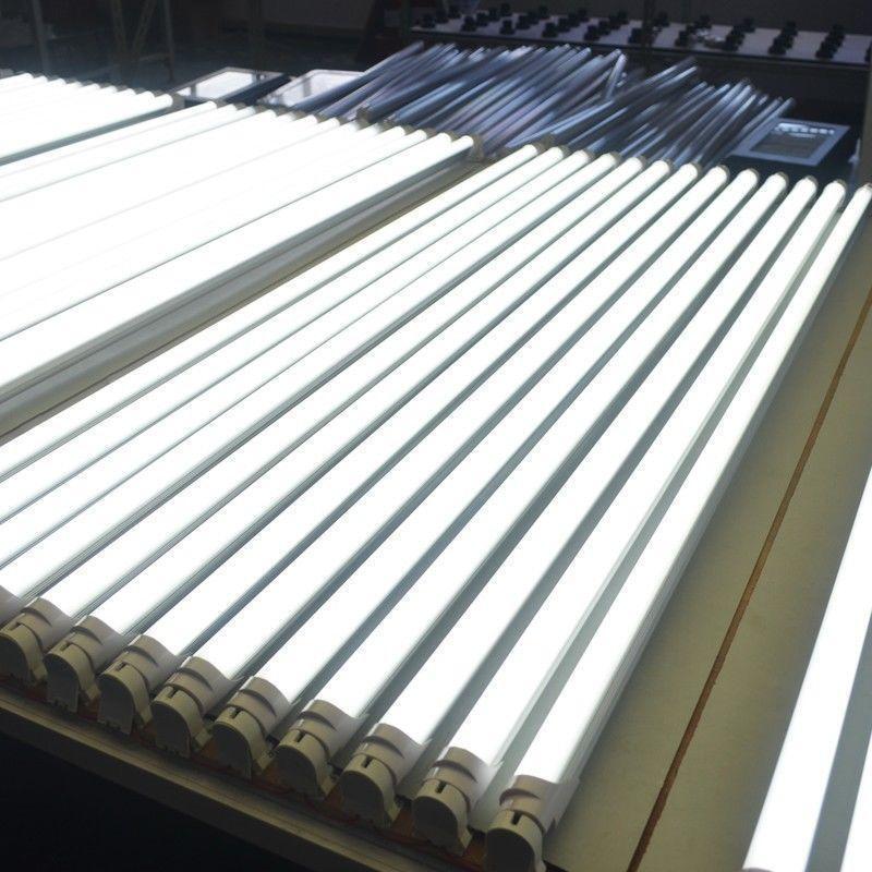 40x Tube Neon LED 120CM T8 G13 20w haut de gamme en verre 4000k 2665lm