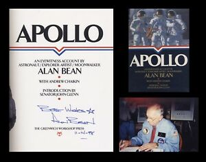 Details about ALAN L BEAN Signed Autographed Book NASA Astronaut Apollo 12  Lunar Moon