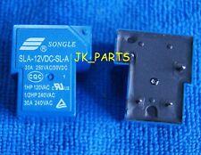 10pcs ORIGINAL SLA-12VDC-SL-A 12VDC SONGLE Relay 4Pins