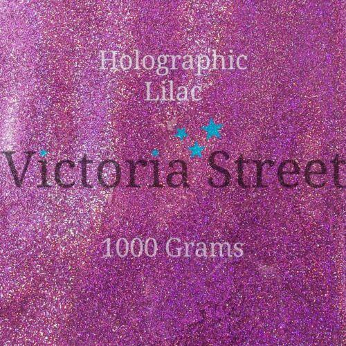 """Holographic Lilac Victoria Street Glitter Fine 0.008/"""" 0.2mm Purple"""