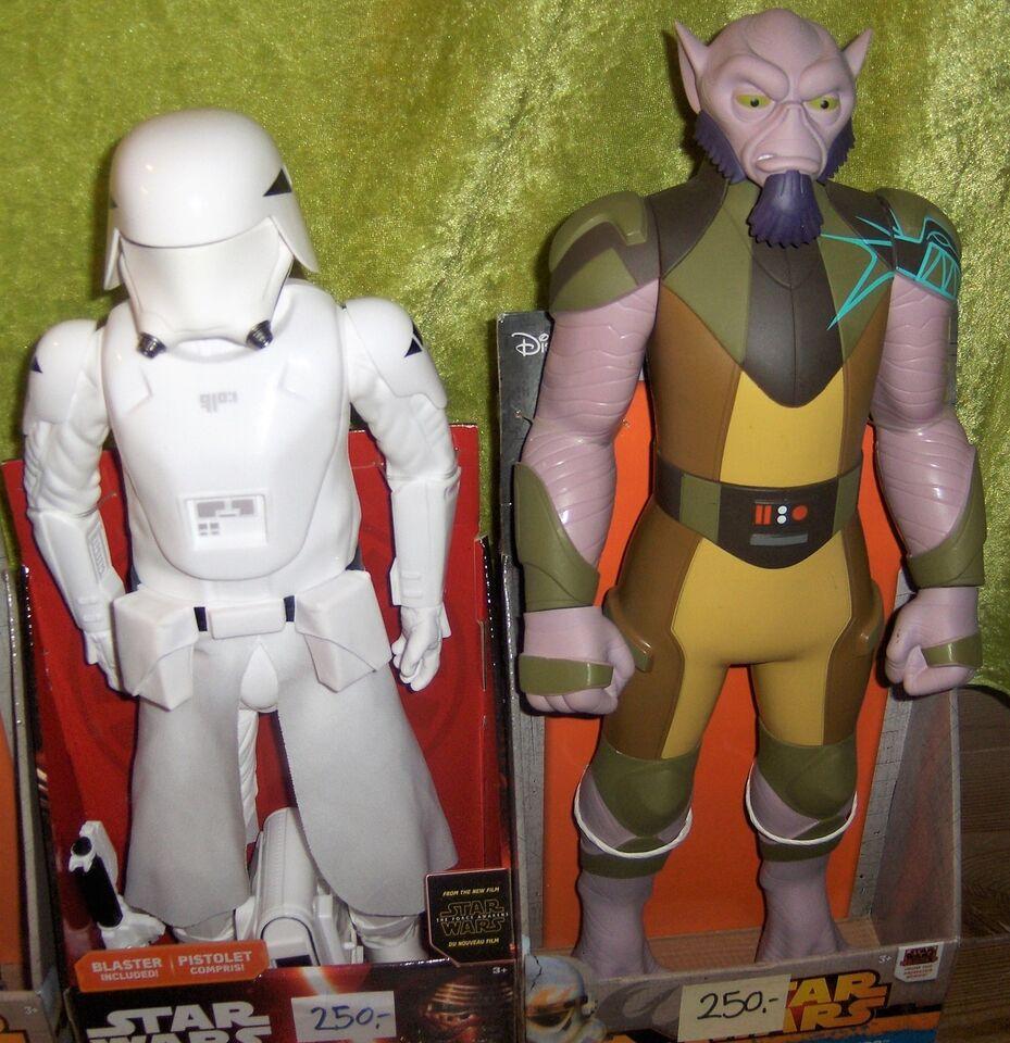 4 forskellige Star Wars Figurer 45 cm, Jakks Pacific