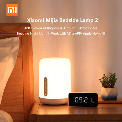 Original Xiaomi Mi Bedside Lamp 2 LED Baby Sleeping Light Tinming HomeKit N1E6