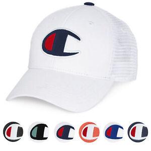 5f923e021 Details about Champion Life Men's Premium Athletic Twill Mesh Snapback Dad  Cap Hat