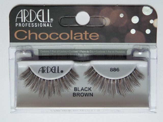 dd77efe9def Ardell Professional Lashes Chocolate Black Brown #886 | eBay