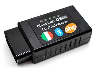 lector de c/ódigo de diagn/óstico OBD2 ELM327 USB modificado para Fiat Lancia diagn/óstico Fiat Especial Alfa Romeo