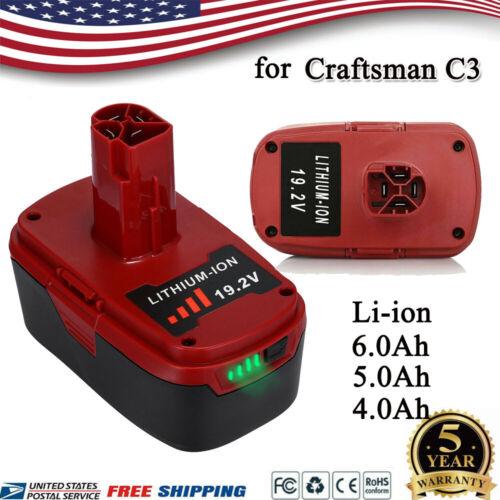 For Craftsman 19.2V C3 6.0 Lithium Battery 11375 PP2011 PP2030 130279005 4.0//5.0