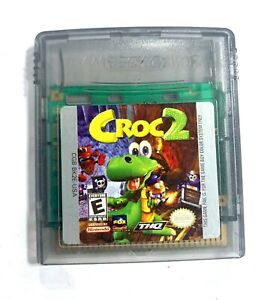 Croc-2-NINTENDO-GAMEBOY-COLOR-GAME-Tested-WORKING-amp-Authentic