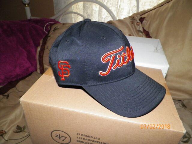 205f76acb5182 1 BRAND NEW TITLEIST GOLF HAT (SAN FRANCISCO GIANTS) FREE SHIPPING