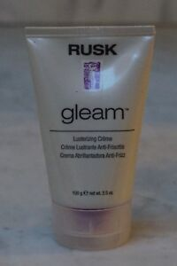 Details about 3 5 oz  Rusk Gleam Lusterizing Creme  Anti-Frizz  100g  NEW   FREE SHIPPING